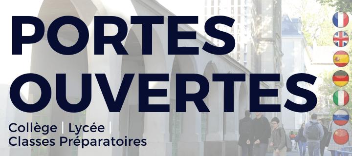 Portes Ouvertes lycée Blanche de Castille novembre 2020